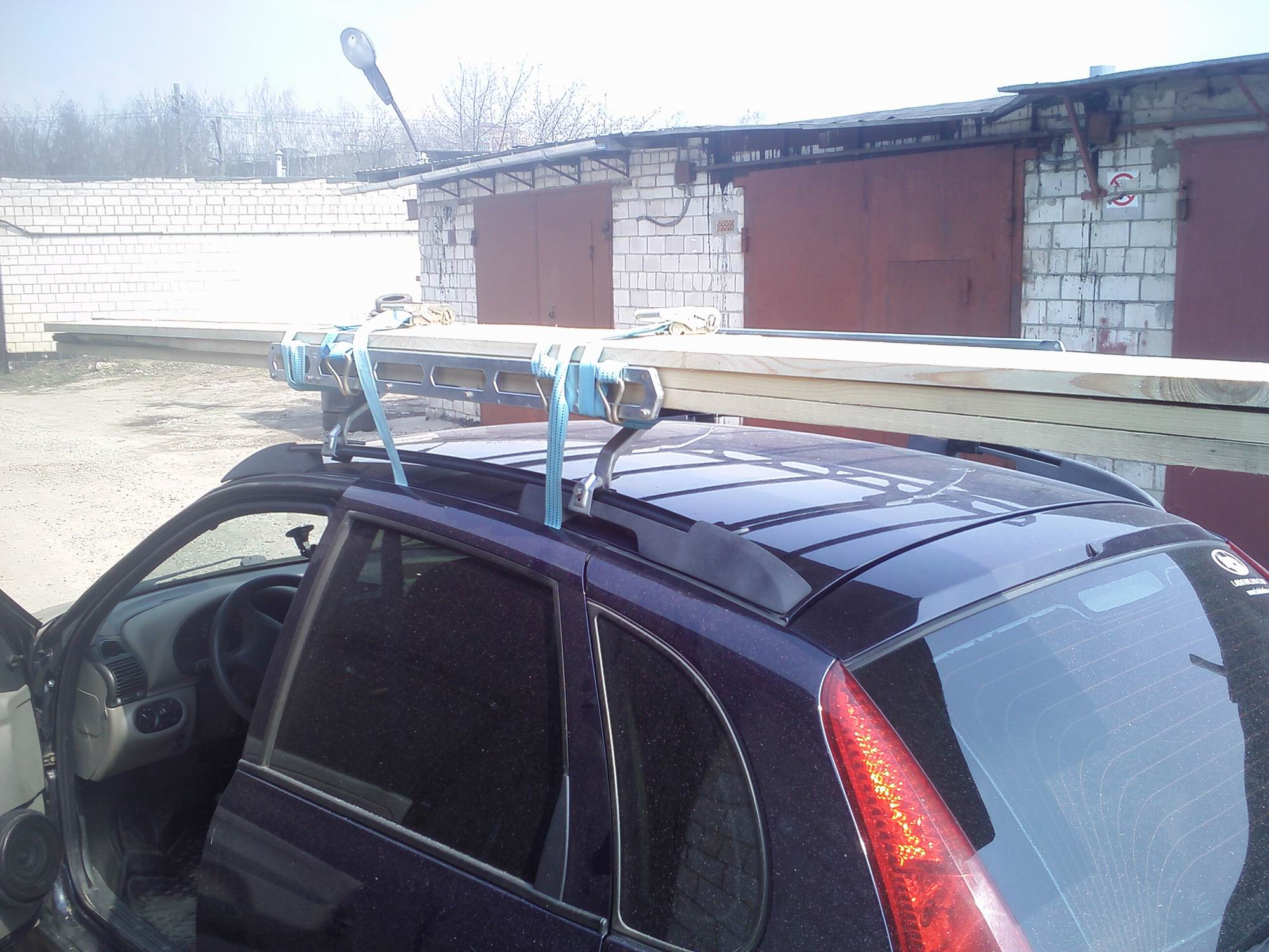 Багажник на крышу калины своими руками бортжурнал Лада Калина 15