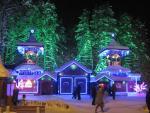 Вечером на вотчине Деда Мороза