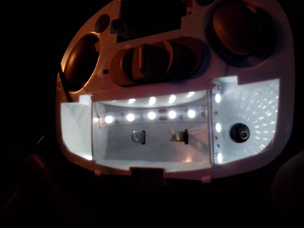 Подсветка салона калины своими руками