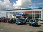 Автопробег к выставке в Москве. Август 2012, остановка в Тамбове