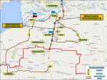 Схема объезда Самарского М4-Дон